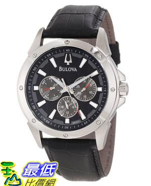 [美國直購 USAShop] Bulova 手錶 Men's 96C113 Strap Watch $6499