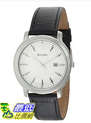 [美國直購 USAShop] Bulova 手錶 Men's 96B120 Silver Dial Strap Watch $4366