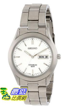 [美國直購 USAShop] Seiko 手錶 Men's SGG705 Titanium Case and Bracelet Watch $4907