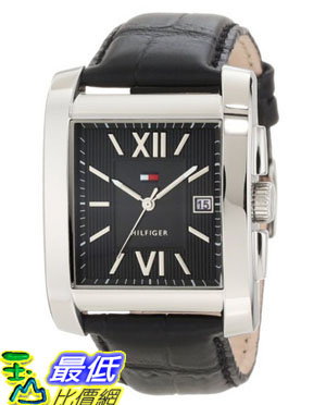 [美國直購 USAShop] Tommy Hilfiger 手錶 Men's 1710317 Classic Tank Roman Numeral Enamel Dial Watch $2690