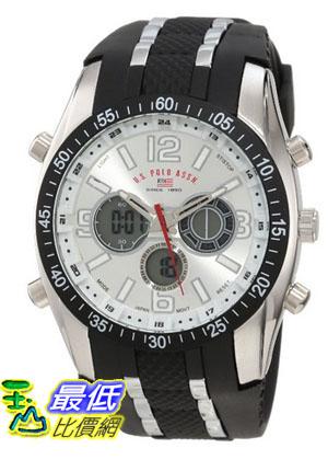 [美國直購 USAShop] U.S. Polo Assn. Sport Men's US9061 Black Rubber Strap 手錶 $1123