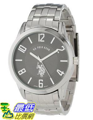 [美國直購 USAShop] U.S. Polo Assn Classic Men's USC80038 Analogue Black Dial Bracelet 手錶 $1123