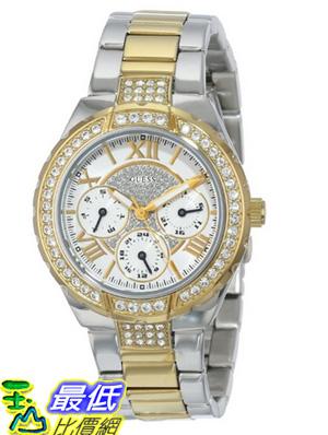 [美國直購 USAShop] GUESS 手錶 Women's U0111L5 Analog Display Quartz Two Tone Watch $4052