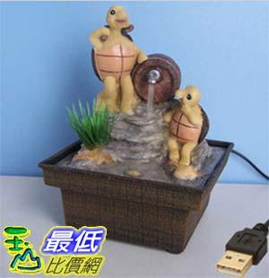 [玉山最低比價網] 卡通烏龜嘻水USB迷你小噴泉流水擺飾 dm10 $479