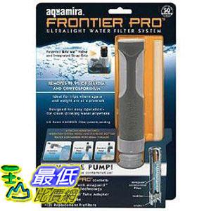 [美國直購 ShopUSA] McNett Aquamira Frontier Pro Ultralight Water Filter $989