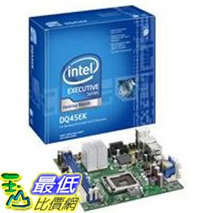 [美國直購 ShopUSA] Intel 台式機主板 DQ45EK Executive Series Q45 Mini-ITX DDR2 800 vPro Intel Graphics 1333MHz FSB LGA775 Desktop Board - Retail