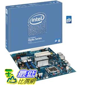 [美國直購 ShopUSA] Intel 台式機主板 DP35DP Media Series P35 ATX DDR2 800 PCIe x161333MHz FSB LGA775 Desktop Board – Retail   $4079