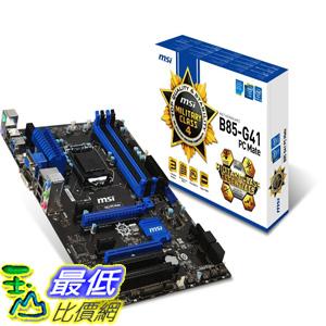 [美國直購 ShopUSA] MSI 主機板 Computer Corp. Motherboard ATX DDR3 1333 LGA 1150 Motherboards B85-G41 PC MATE by MSI Computer Corp. $3685