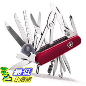 [美國直購] Swiss Army Knife, Swisschamp, Red, Victorinox 53501, New In Box