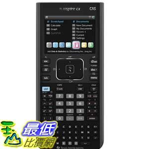 [美國直購 ShopUSA] Texas Instruments 圖形計算機 Nspire CX CAS Graphing Calculator (N3CAS/GC/2L1)