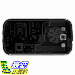 [美國直購 ShopUSA] Design 保護殼 Galaxy Samsung S3 Cases Hi Tech Scheme Motherboard Intel Apple Of Innervation Present Black Case Cover For Lady $606