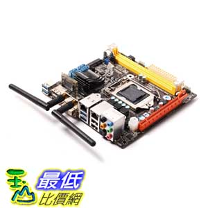 [美國直購 ShopUSA] Zotac 主機板 H87ITX-A-E Desktop Motherboard - Intel H87 Express Chipset - Socket H3 LGA-1150 $4819