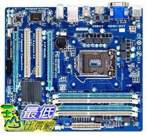 [美國直購 ShopUSA] Gigabyte 主機板 LGA 1155 Intel B75 SATA 6Gb/s USB 3.0 Micro ATX DDR3 1600 Motherboards GA-B75M-D3H $3339