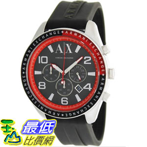 [美國直購 ShopUSA] Armani Exchange 手錶 Men's AX1251 Grey Rubber Quartz Watch with Grey Dial #1681895128 _mr