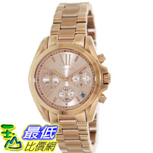 [美國直購 ShopUSA] Michael Kors 手錶 Women's Bradshaw MK5799 Rose-Gold Stainless-Steel Analog Quartz Watch with Rose-Gold Dial #1681895168 _mr $9649