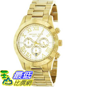 [美國直購 ShopUSA] Michael Kors 手錶 Men's Layton MK8214 Gold Stainless-Steel Quartz Watch with Gold Dial #1681888402 _mr $7670