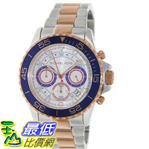 [美國直購 ShopUSA] MICHAEL KORS 手錶 Men's Everest MK5794 Two-Tone Stainless-Steel Quartz Watch with White Dial #1681898805 _mr $7337