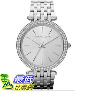 [美國直購 ShopUSA] Michael Kors 手錶 Women's MK3190 Silver Stainless-Steel Quartz Watch with Silver Dial #1681889938 _mr $7003