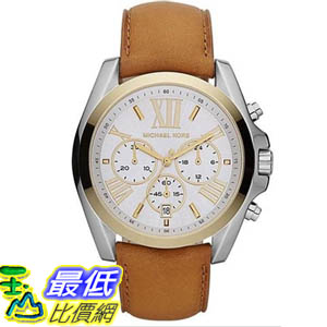 [美國直購 ShopUSA] Michael Kors 手錶 Women's MK5629 Brown Leather Quartz Watch with Silver Dial #1681887470 _mr $7930