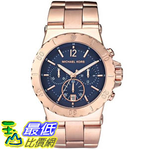 [美國直購 ShopUSA] Michael Kors 手錶 Women's MK5410 Rose-Gold Stainless-Steel Quartz Watch with Blue Dial #1681876349 _mr $7022