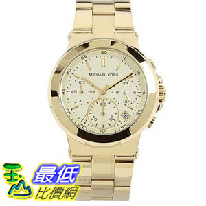 [美國直購 ShopUSA] Michael Kors 手錶 Women's MK5222 Gold Stainless-Steel Quartz Watch with White Dial #1681870391 _mr $7247