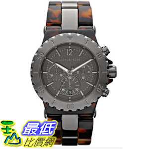 [美國直購 ShopUSA] Michael Kors 手錶 Women's MK5501 Brown Plastic Quartz Watch with Grey Dial #1681880794 _mr $7747