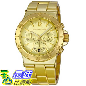 [美國直購 ShopUSA] Michael Kors 手錶 Women's MK5463 Gold Aluminum Quartz Watch with Gold Dial #1681882480 _mr $7500