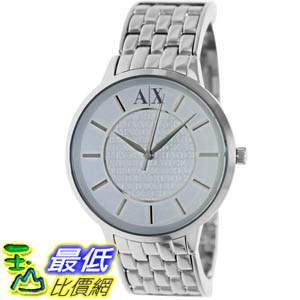 [美國直購 ShopUSA] Armani Exchange 手錶 Women's AX5306 Silver Stainless-Steel Quartz Watch with White Dial #1681897091 _mr
