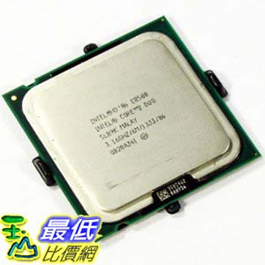 [103美國直購 ShopUSA] Intel 雙核處理器 Core 2 Duo Processor E8500 3.16GHz 1333MHz 6MB LGA775 CPU, OEM $2129