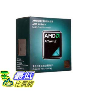 [103美國直購 ShopUSA] AMD 雙核 Athlon II X2 270 Regor 3.4 GHz 2x1 MB L2 Cache Socket AM3 65W Dual-Core Desktop  $2509