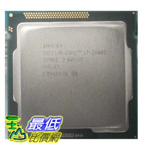 [103 玉山網 裸裝] Intel/英特爾 i7 2600S (散) 2.8GHZ $10920