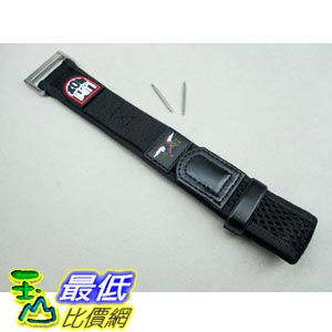 [103美國直購] 錶帶 Luminox Watch Band LNS-5 Nylon   Velcro Navy Seals 20 mm Series 3000/3900 細錶帶 $1750