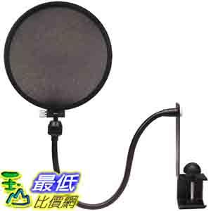 [美國直購 ShopUSA] Nady 麥克風 MPF-6 6-Inch Clamp On Microphone Pop Filter $1016