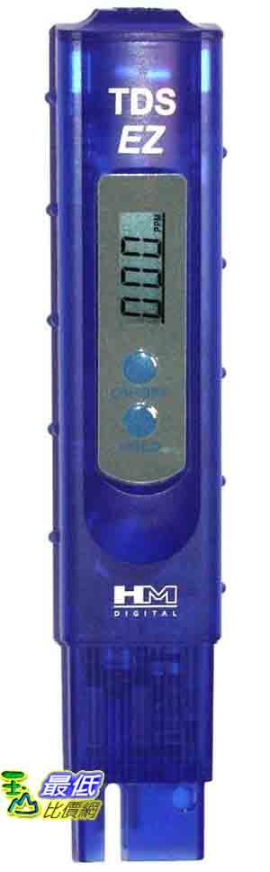 [美國直購 ShopUSA] 測試儀 HM Digital TDS-EZ Water Quality TDS Tester