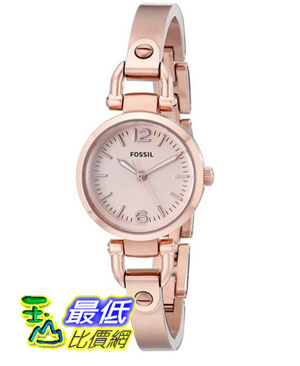 [104美國直購] Fossil Women's ES3268 Georgia Rose Gold-Tone Stainless Steel Watch