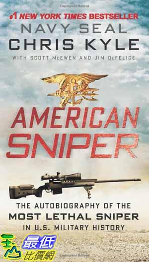 [104美國直購]  2015 美國暢銷書 American Sniper