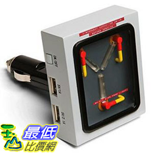 [104美國直購] ThinkGeek 汽車充電器 B00O2KYGQI Flux Capacitor USB Car Charger - Back To The Future 回到未來 $2298