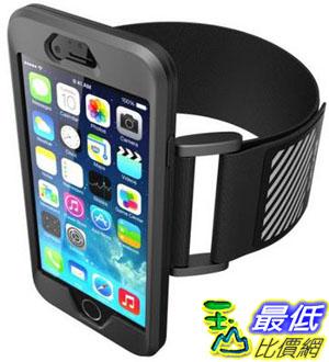 [美國直購] 現貨 SUPCASE 4.7 吋用 可拆式 保護殼 運動臂套 含臂帶 黑/粉色 iPhone 6 / 6s Armband 4.7 T014黑