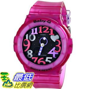 [104美國直購] 女士手錶 Casio Women's BGA-131-4B4CR Baby G Analog-Digital Display Quartz Pink Watch