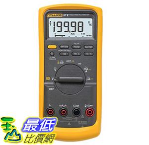 [美國直購 ShopUSA] 美國 Fluke 87V  87-V 工業用真有效值數位萬用表 解決馬達驅動及電器設備的電壓和頻率測量 (T231)