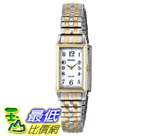[103美國直購] Seiko Women's SUP228 Analog Display Japanese Quartz Two Tone Watch 女士手錶 $3517