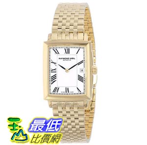 [103美國直購] Raymond Weil Women's 5956-P-00300 Tradition Analog Swiss Quartz Gold Dress Watch 女士手錶 $25021