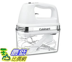 [103美國直購] Cuisinart 九段變速 手持式 攪拌機 食物處理 HM-90S Power Advantage Plus 9-Speed Handheld Mixer White U3