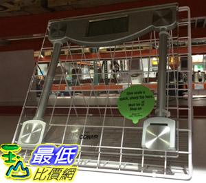 [104限時限量促銷] COSCO 進口強化玻璃數位體重計CONAIR DIGITAL GLASS SCALE (C59GDPCW)_C36151 $795