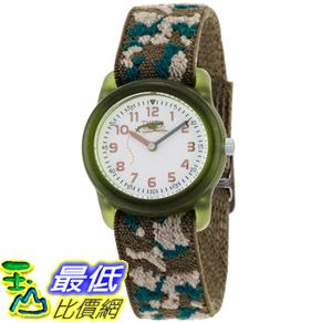 [美國直購 ShopUSA] Timex 手錶 Kids' T78141 Analog Camo Elastic Fabric Strap Watch T781419J
