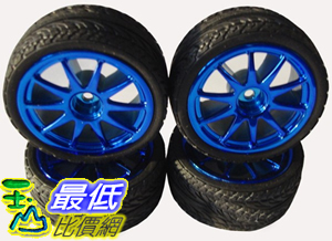 [玉山最低比價網] HBX 1/10平跑輪胎/輪轂/內胎/全套(4只裝)$672