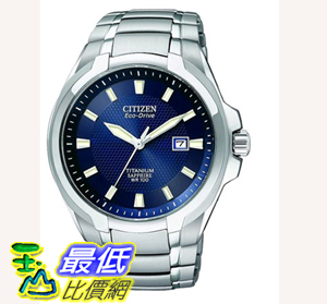 [104美國直購] 男士手錶 Citizen Men's BM7170-53L Titanium Eco-Drive Watch $10783