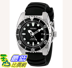 [104美國直購] 男士手錶 Seiko Men's SKA413 Adventure Stainless Steel Kinetic Diver Watch $11077