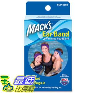 [104現貨] Mack's 麥可思 Ear Band Swimming Headband 游泳頭帶 防止防水耳塞掉落_T21