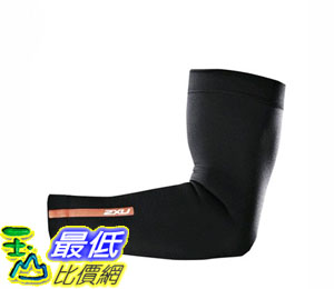 [104美國直購] 2XU Recovery Compression Arm Sleeve UA1951a 機能緊身壓縮  運動袖套 黑色 $1798